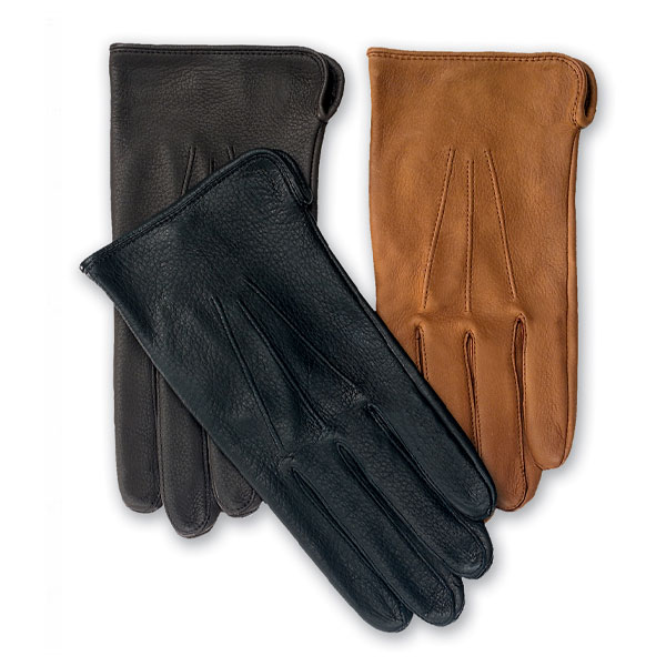 Roper leather dress or driving glove for men