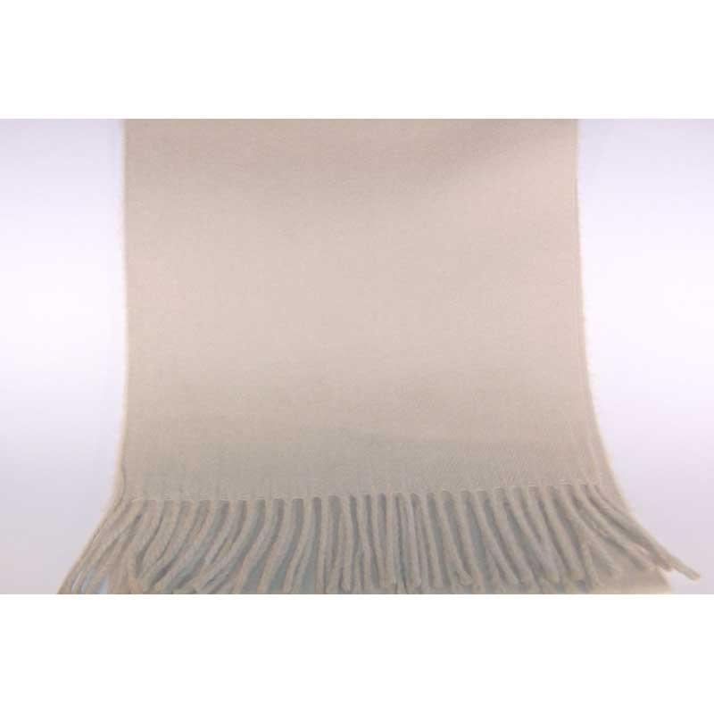 100% Cashmere cream scarf