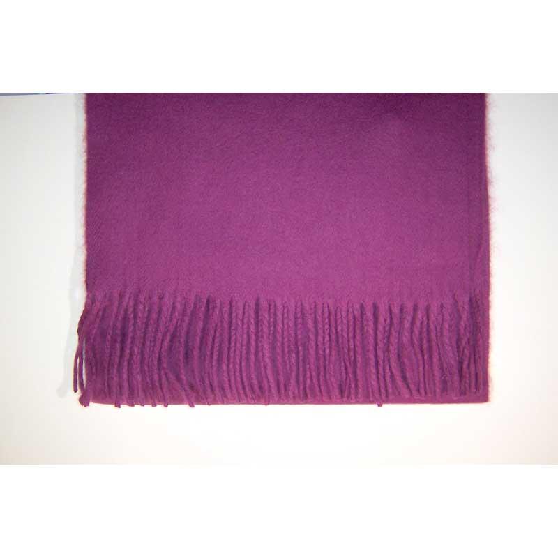 100% Cashmere grape scarf